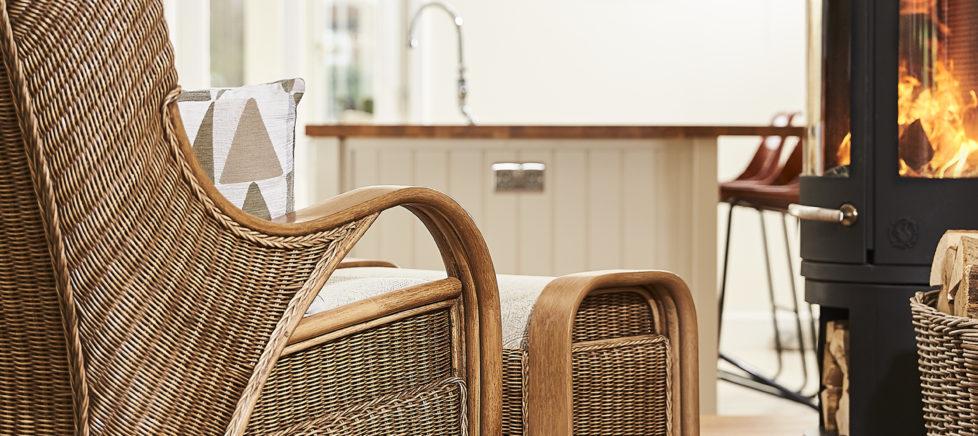 cane sofa set cirenchester