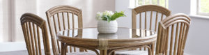 Cane Chair and Cane Sofa Set Swindon