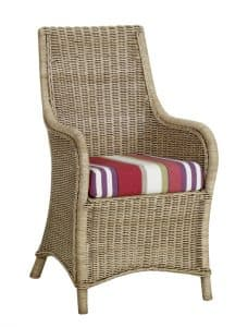 Amalfi Dining Chair With Arms