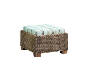 luca stripe padded footstool swindon