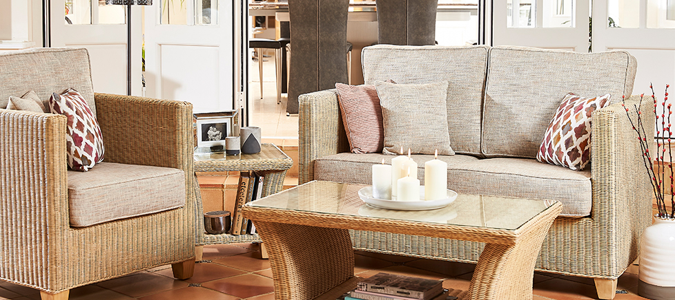 cane sofa set cirencester