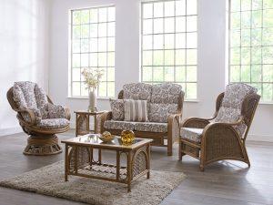 swivel cane furniture swindon